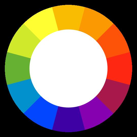 a color wheel