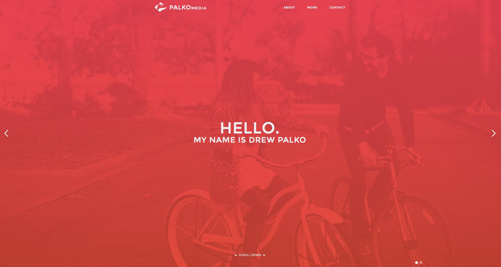 Drew Palko's website