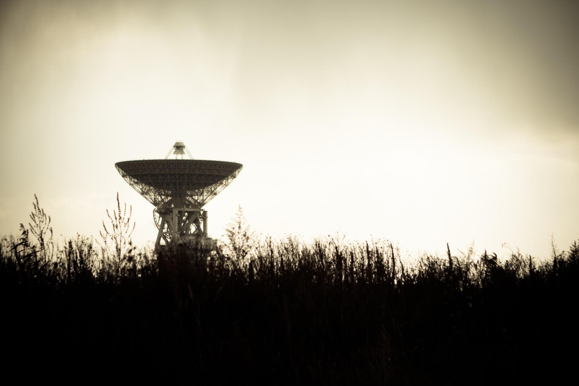 SETI satellite dish