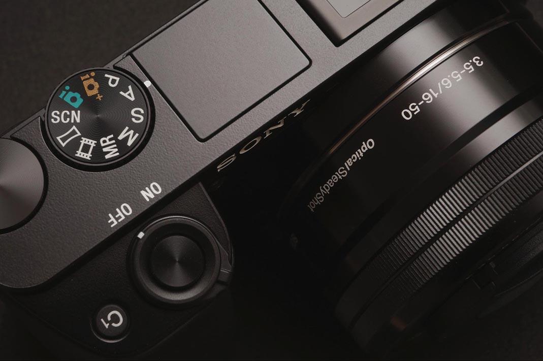 Closeup of a camera