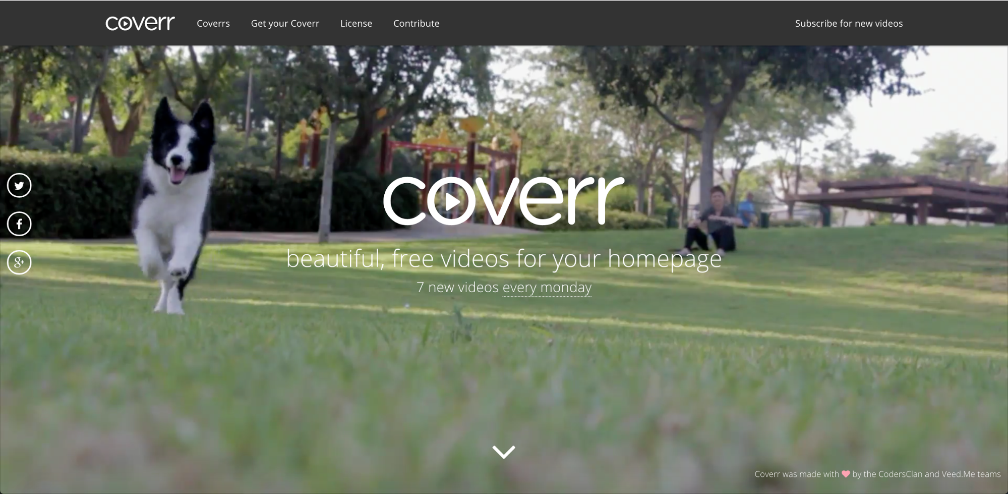 Download beautiful background videos from Coverr