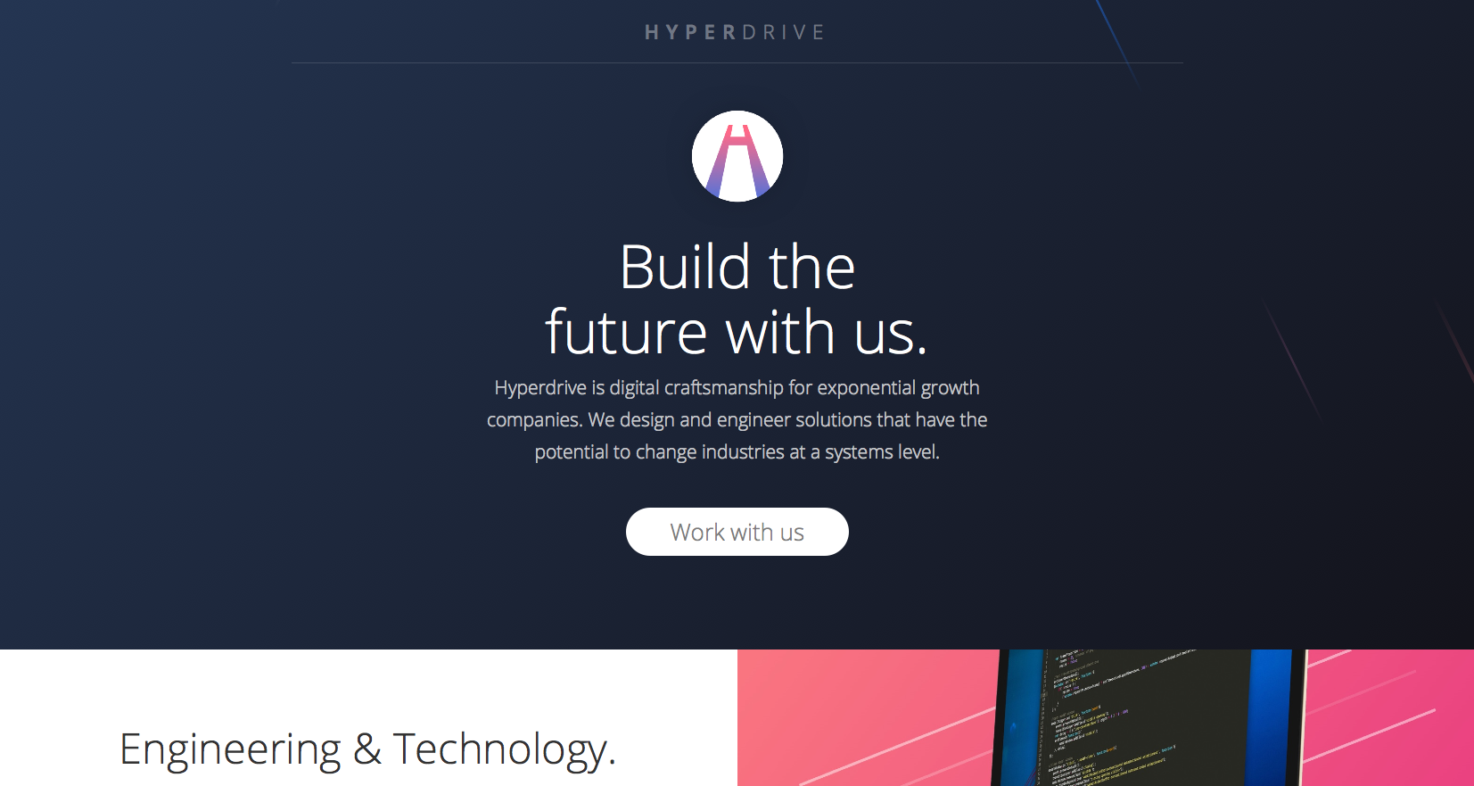 Hyperdrive agency website