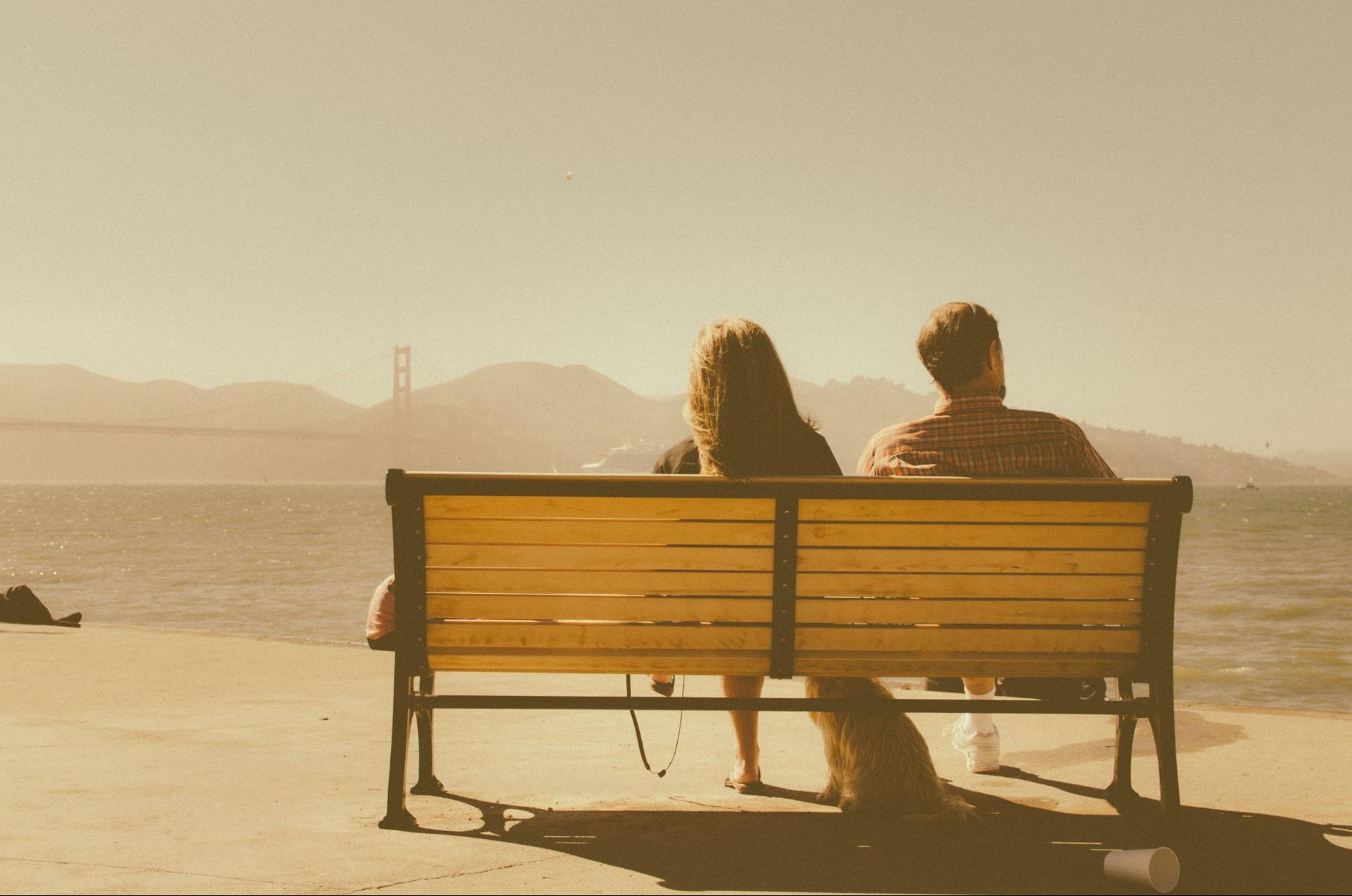 Now we just on park benches and stare into the distance