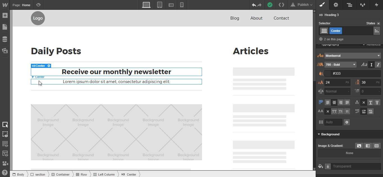 How to build a pop-up modal in Webflow | Webflow Blog