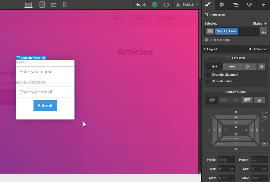 How to build a pop-up modal in Webflow   Webflow Blog