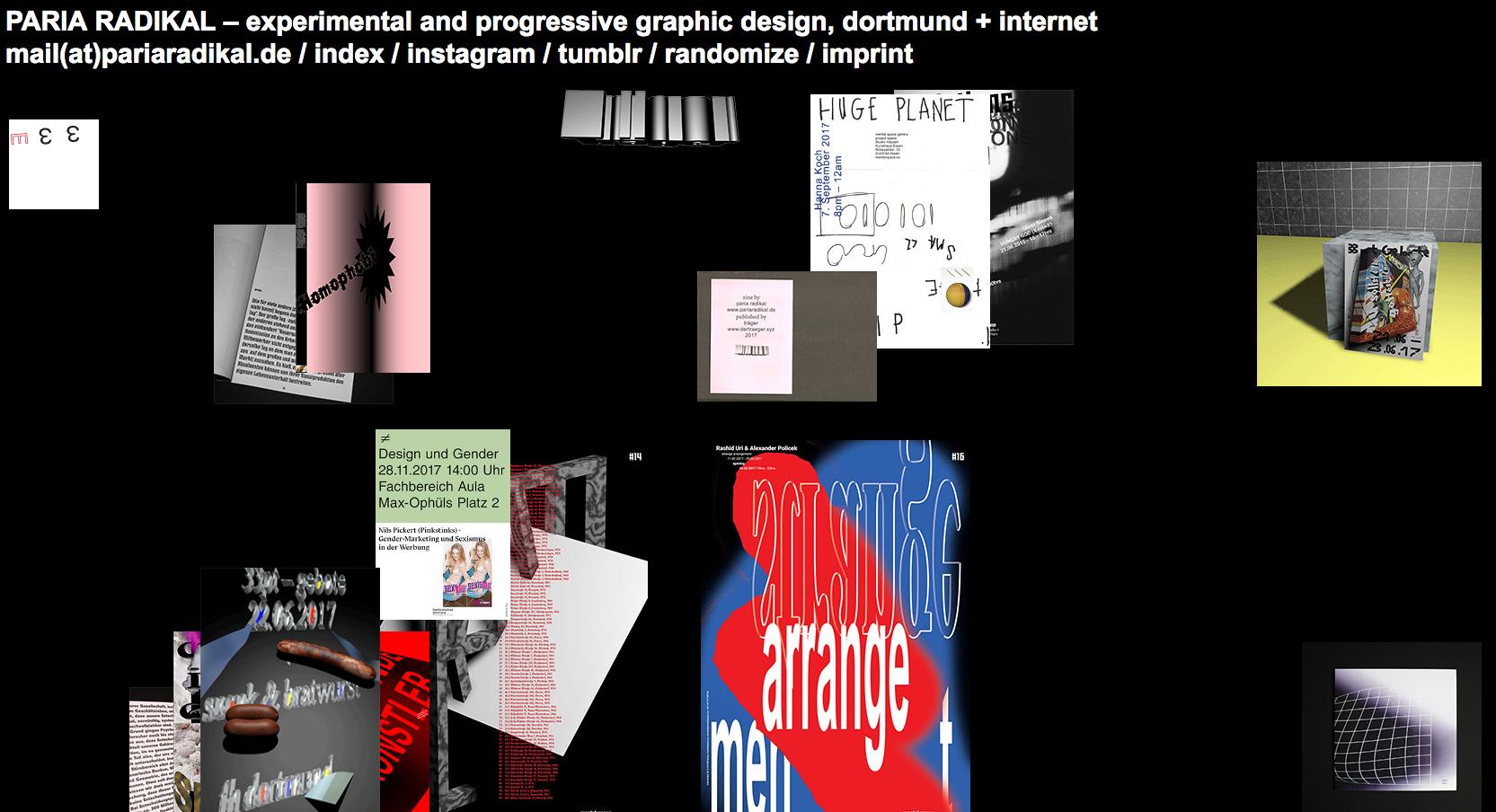 10 brutalist websites | Webflow Blog