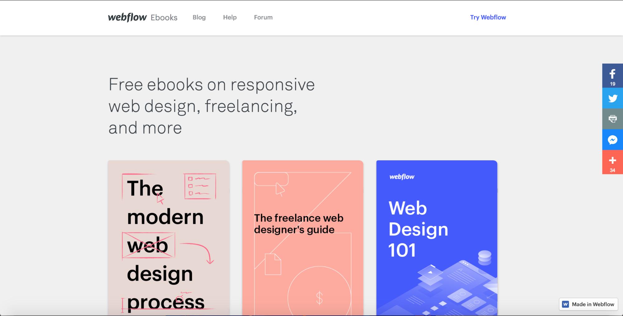 19 web design trends for 2018 | Webflow Blog