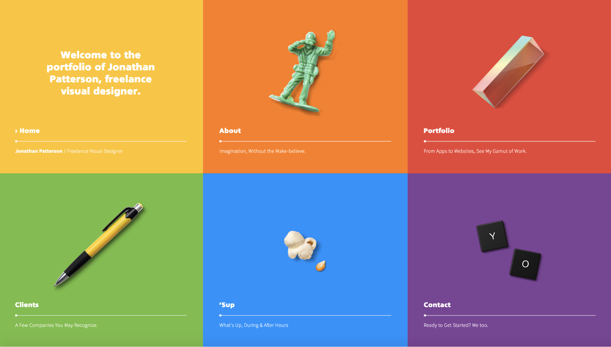 9 inspiring portfolios and insights from the designers