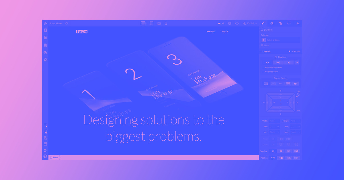 Building an agency site cover image