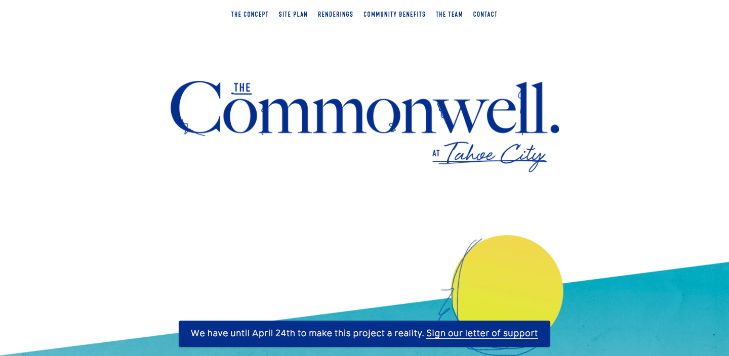 Commonwell project campaign website