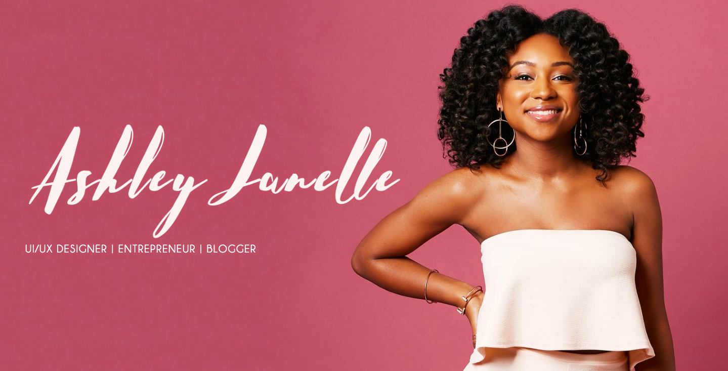 Ashley Janelle landing page.