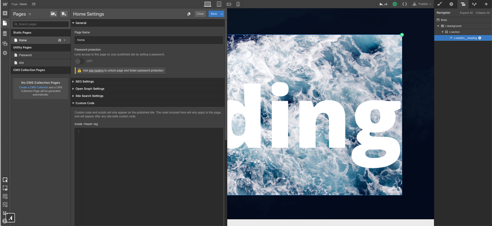Creating knockout text in Webflow | Webflow Blog