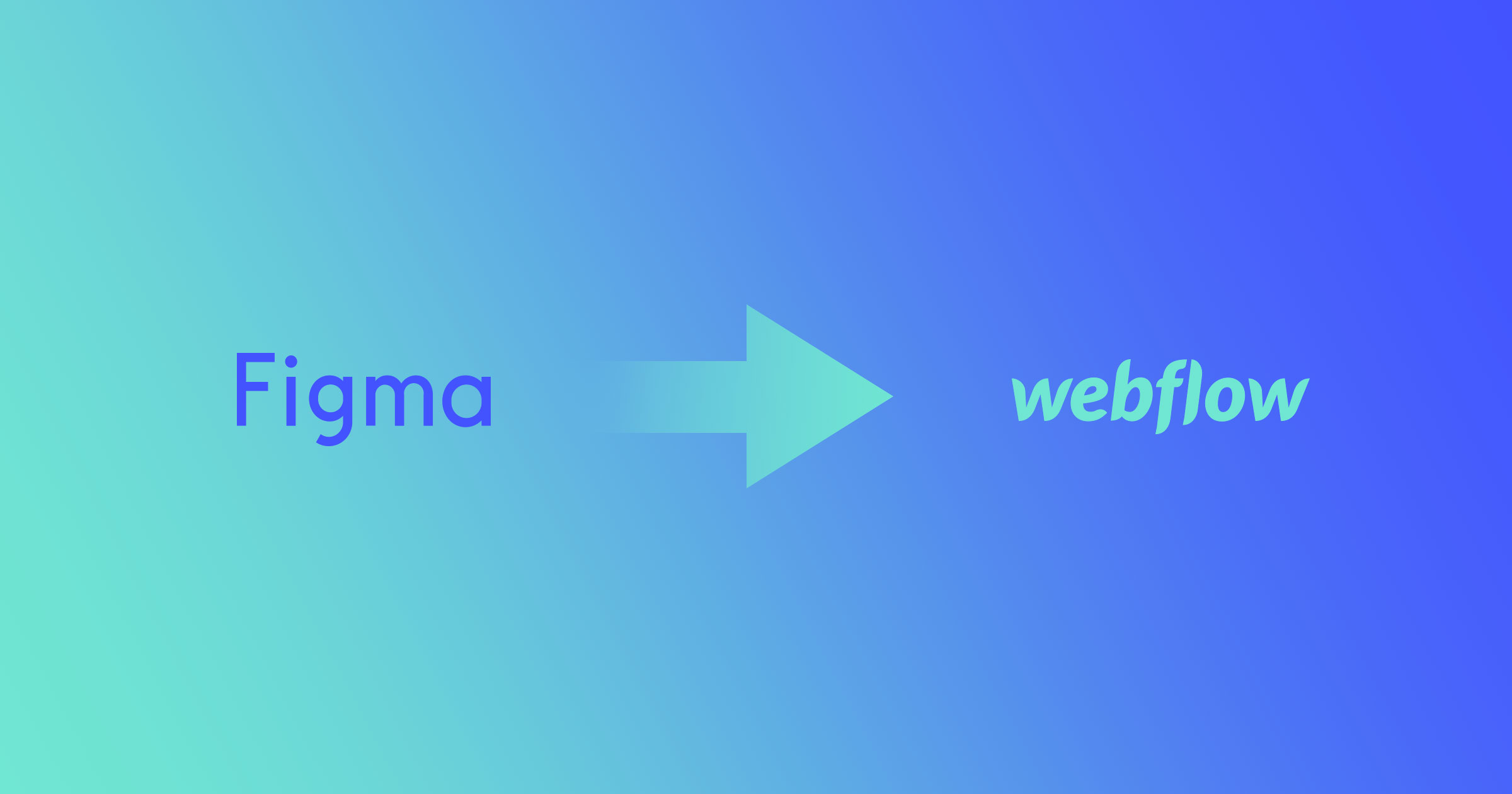 From Figma to Webflow: turning your static designs into interactive
