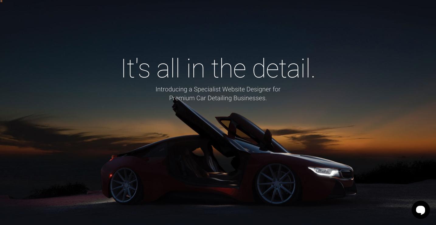 Nathan Dennis Design homepage.