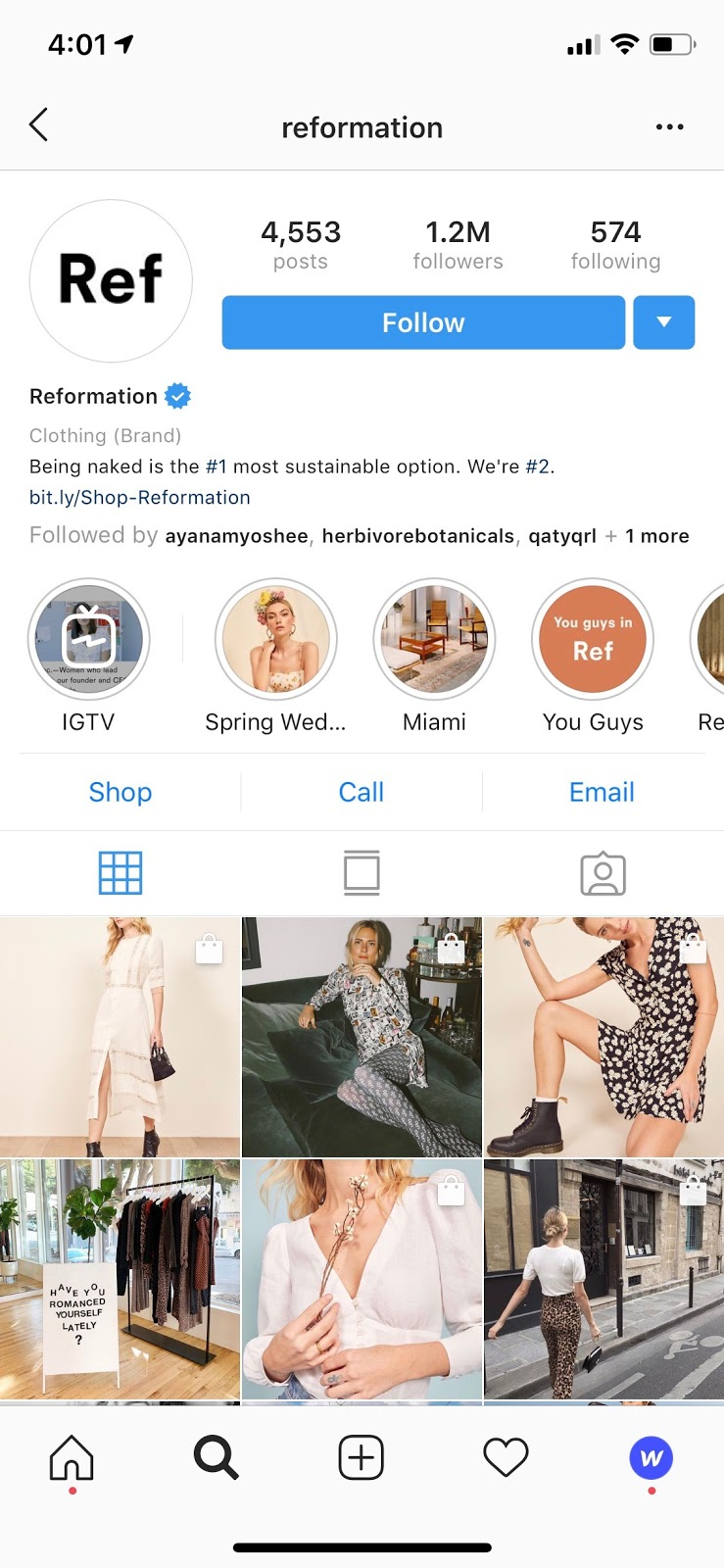 b397e1e5b843e Let s take a look at a few examples of brands who use Instagram s shopping  feature to tag and promote their products.