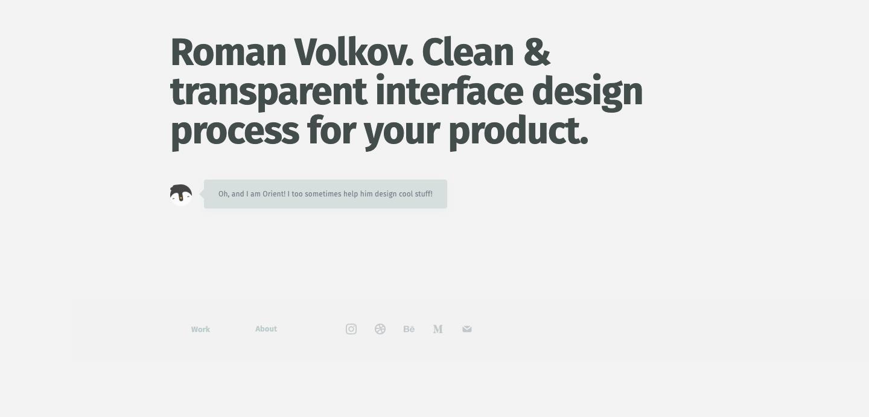 Roman Volkov homepage.