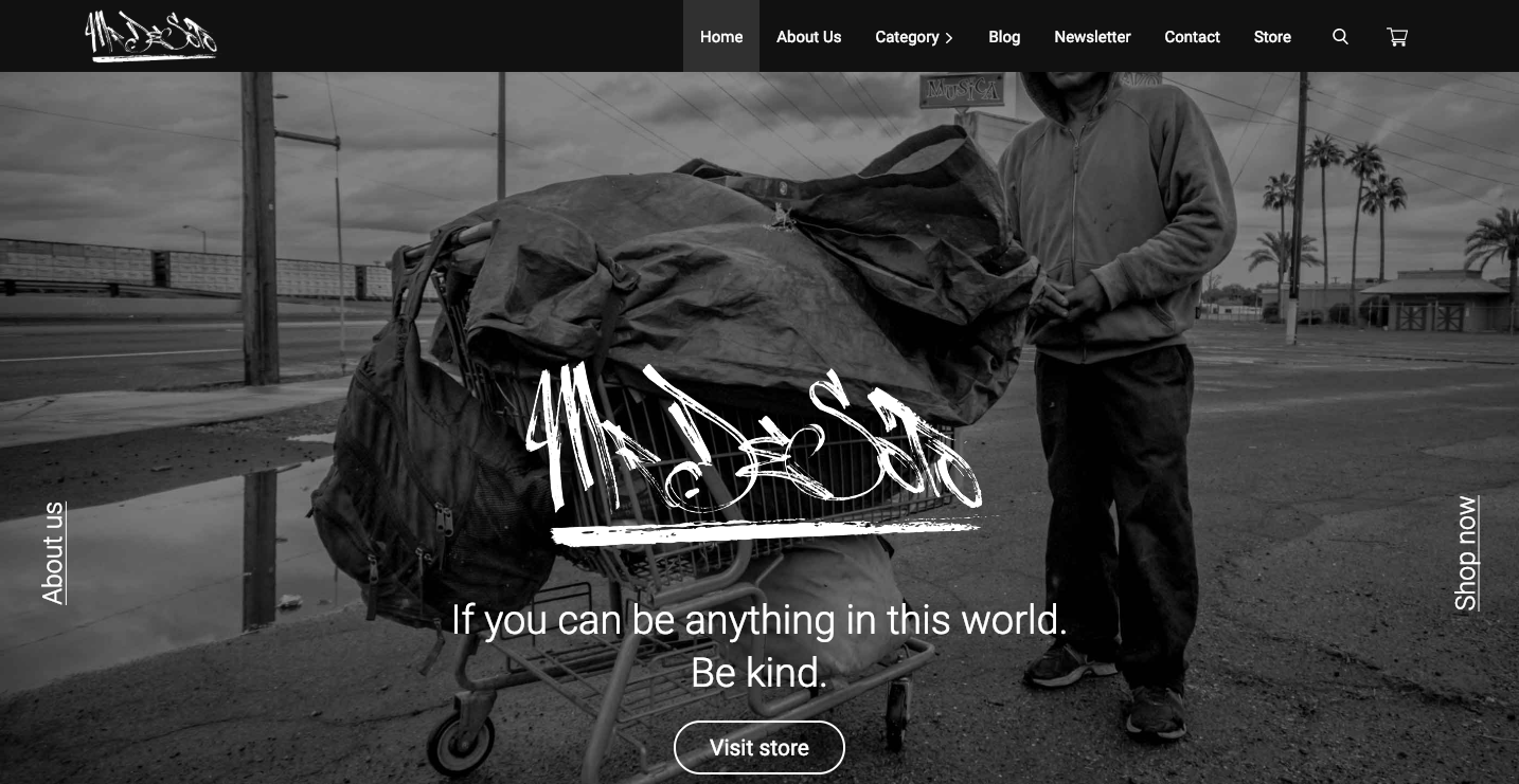 Mr. Desoto homepage.