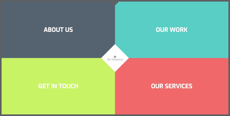 The Minimalists homepage.
