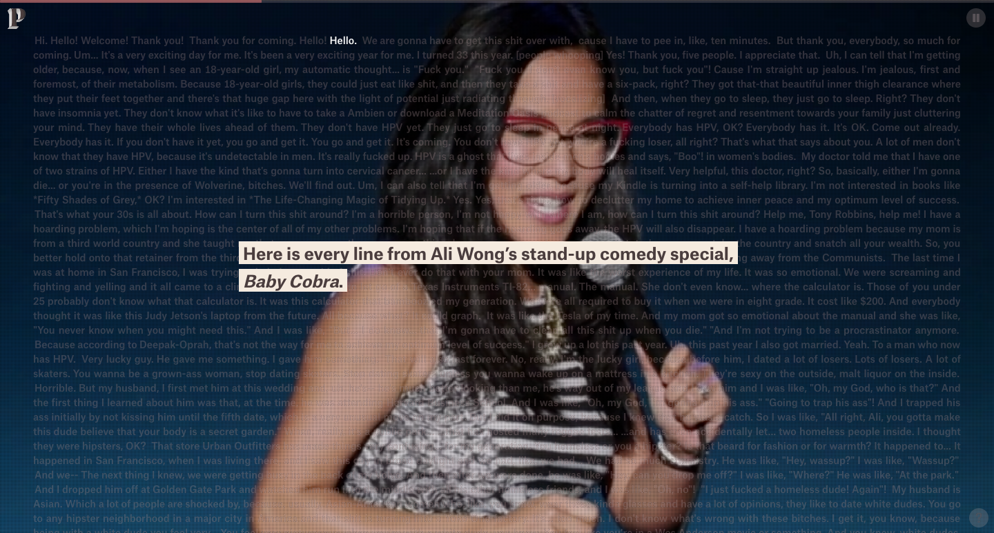 ali wong stand up comedy
