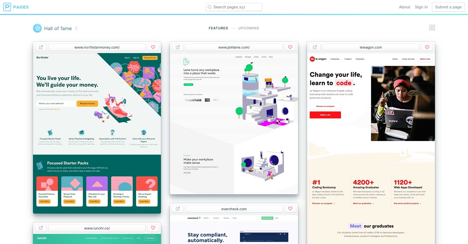 19 Amazing Sources Of Web Design Inspiration Webflow Blog