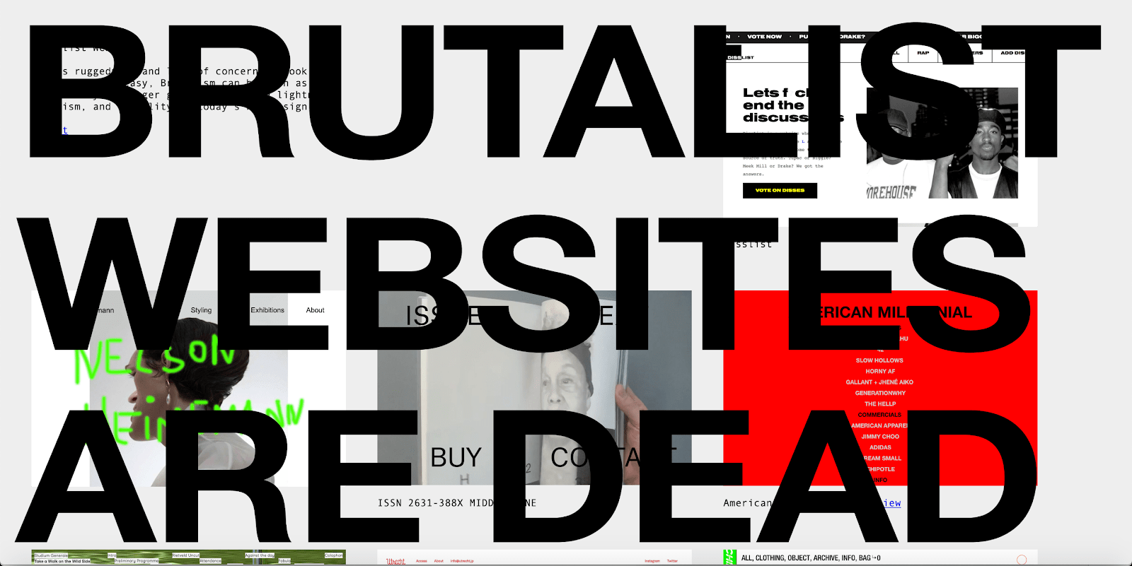 brutalist websites are dead