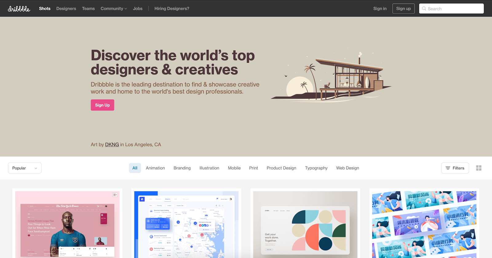 20 Amazing Sources Of Web Design Inspiration Webflow Blog
