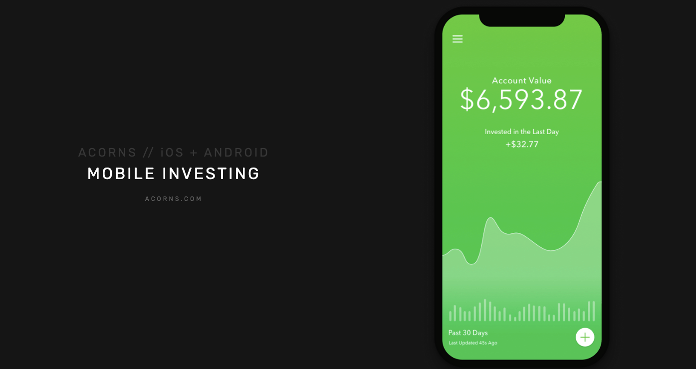 acrons mobile investing