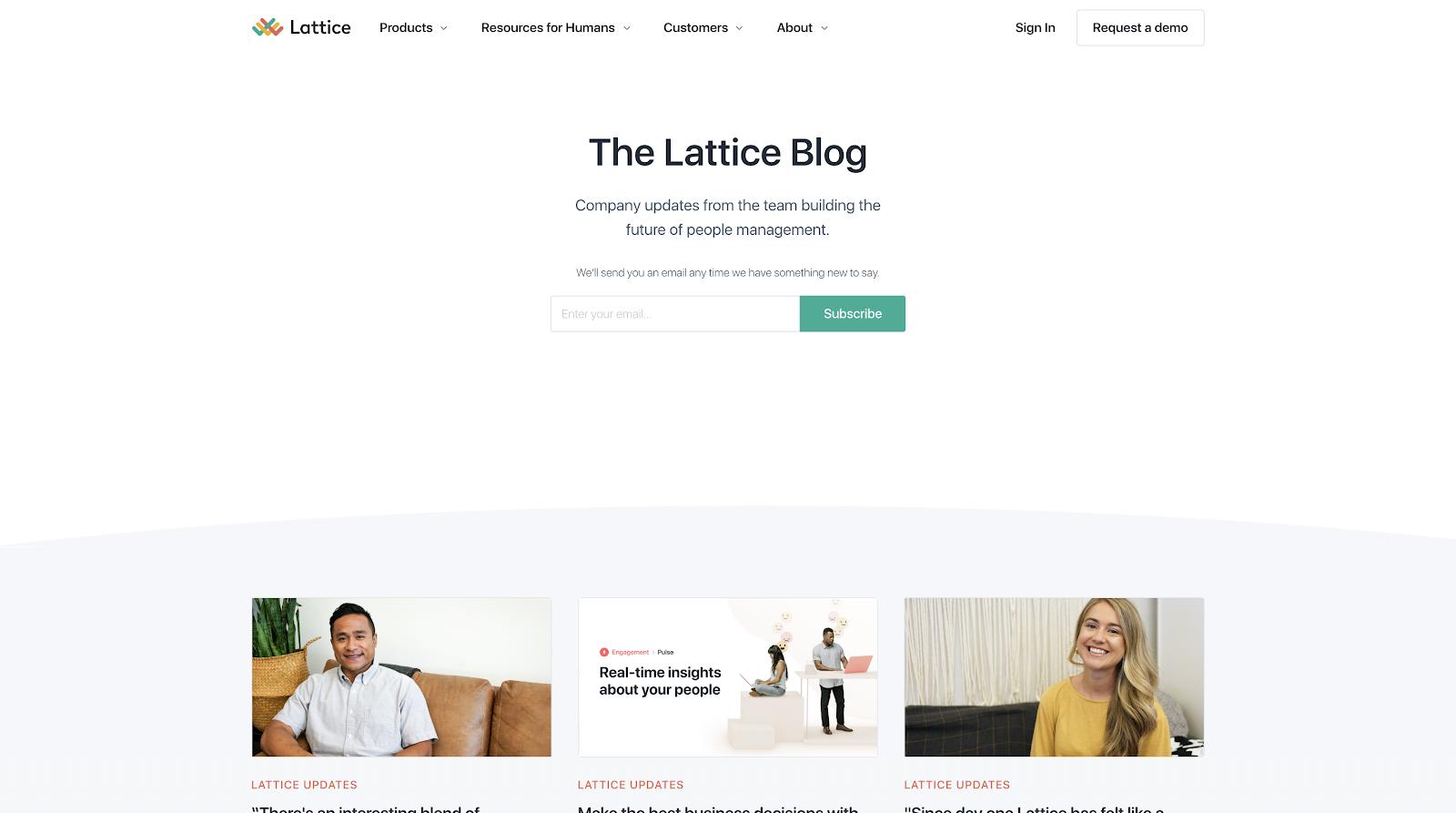 lattice blog