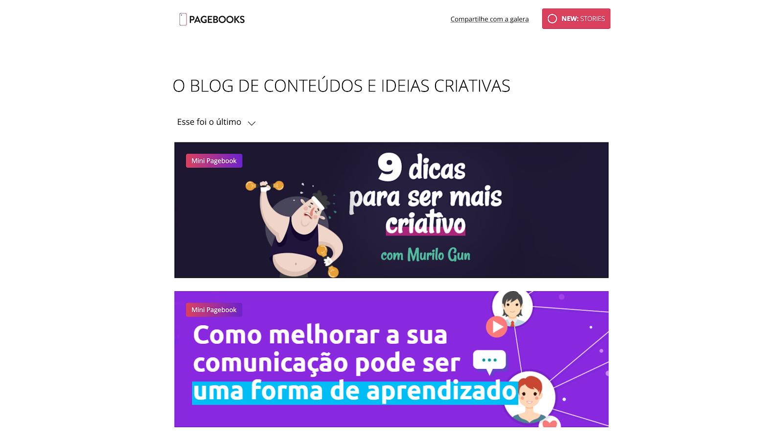 pagebooks blog