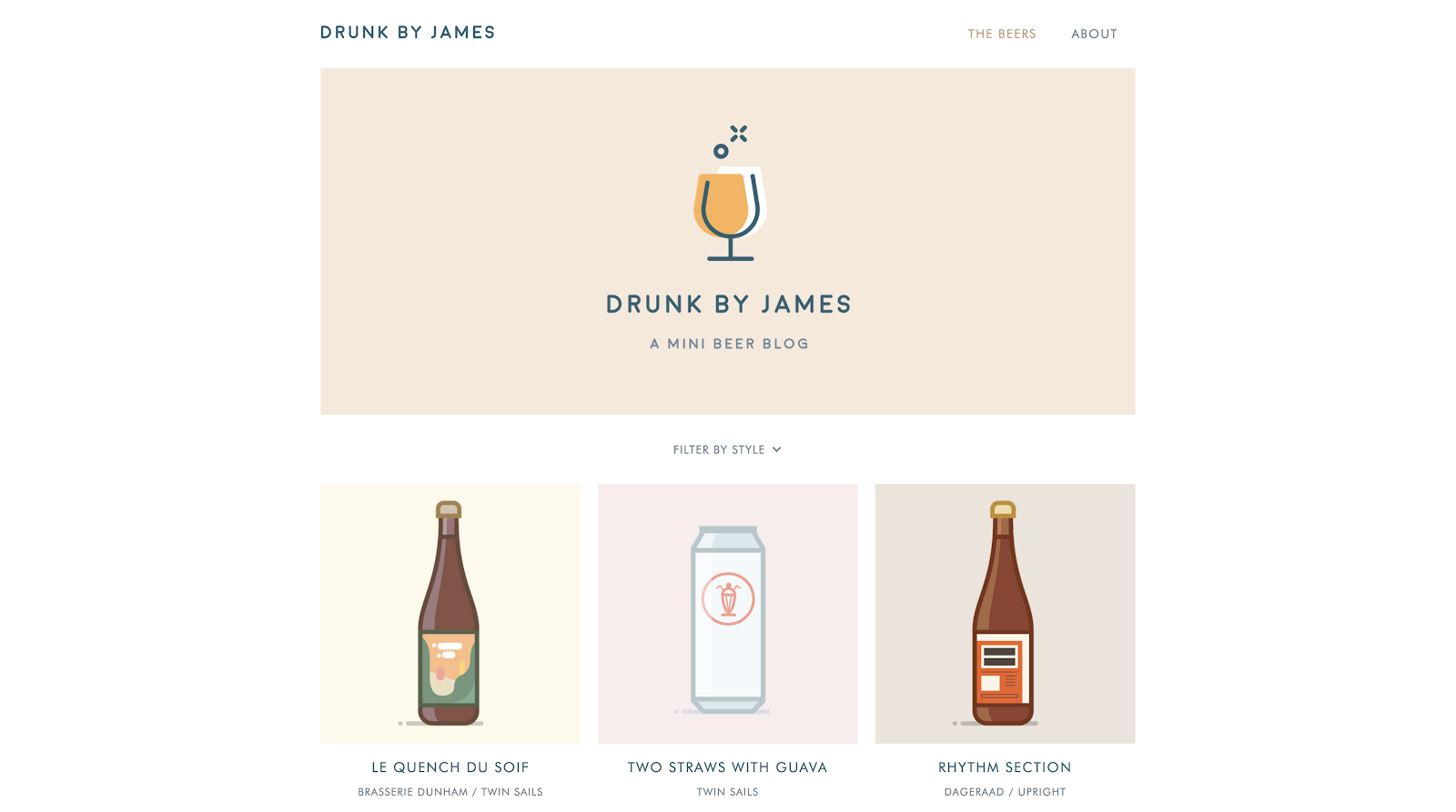 drunk by james blog
