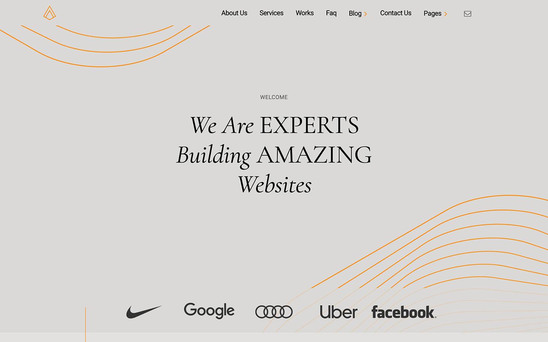 sonoma template homepage