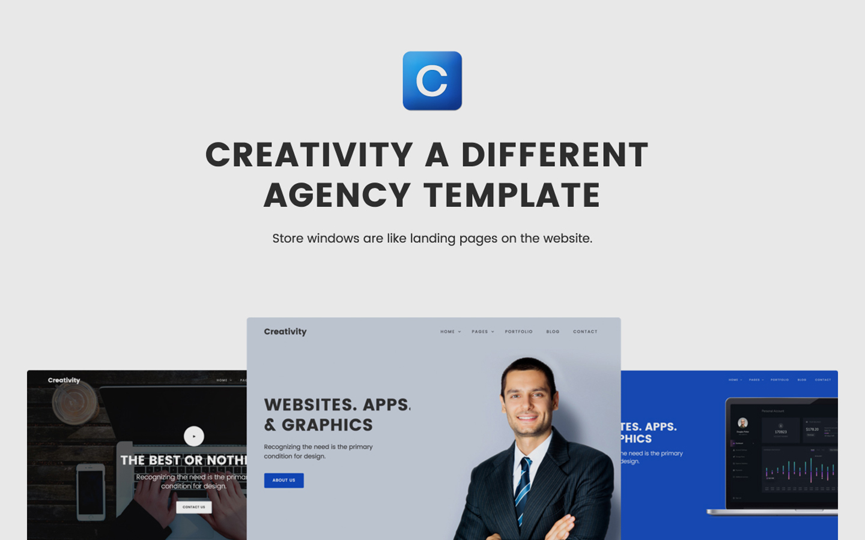 creativity webflow template