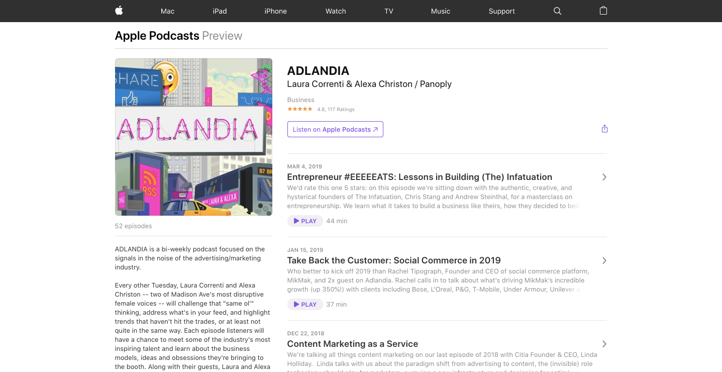 ADLANDIA podcast