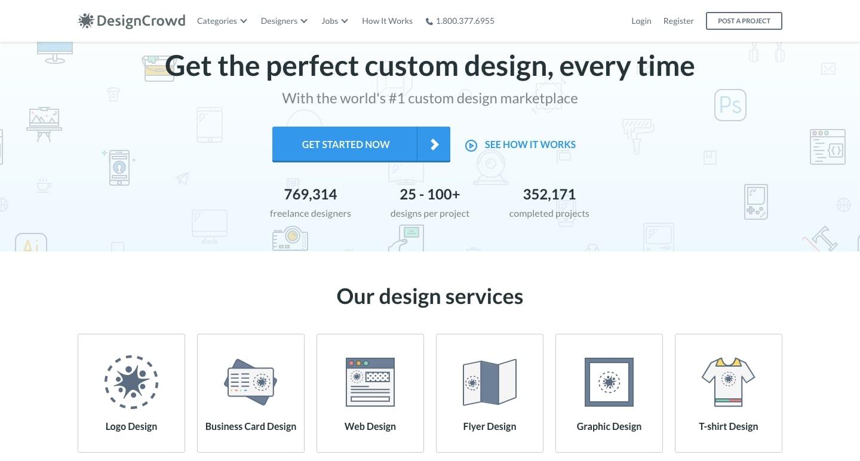 designcrowd for freelancers