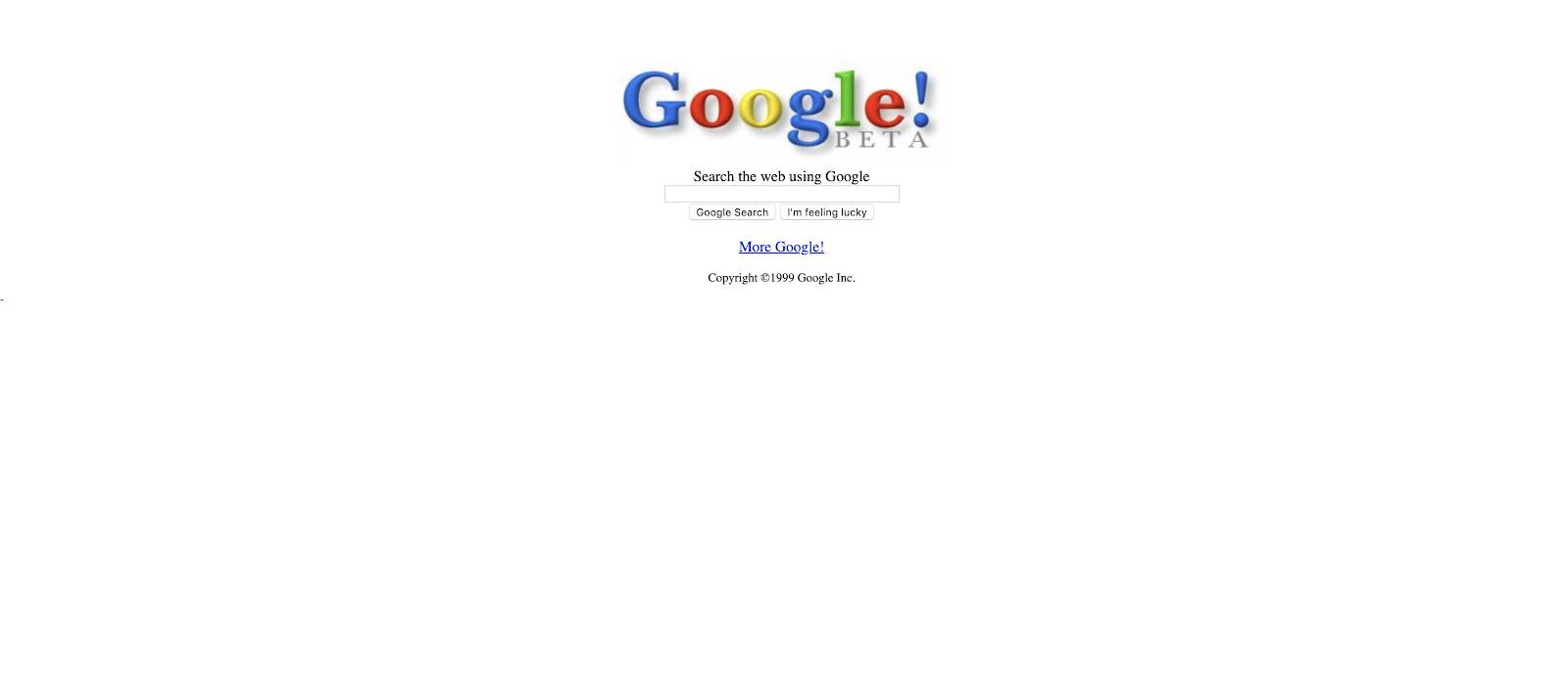 google in 199