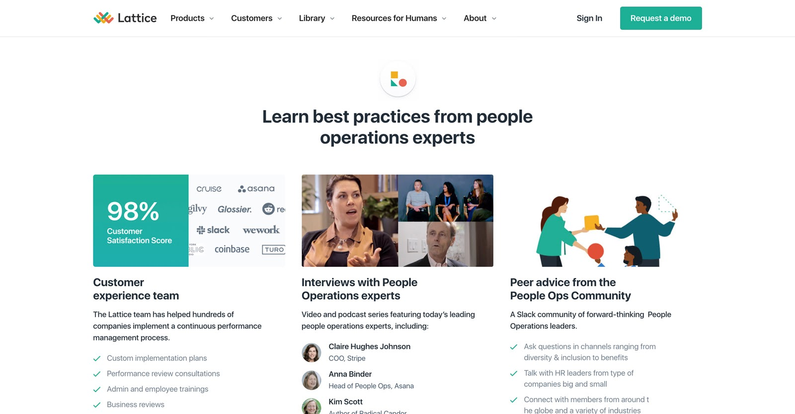 learn best practices with lattice