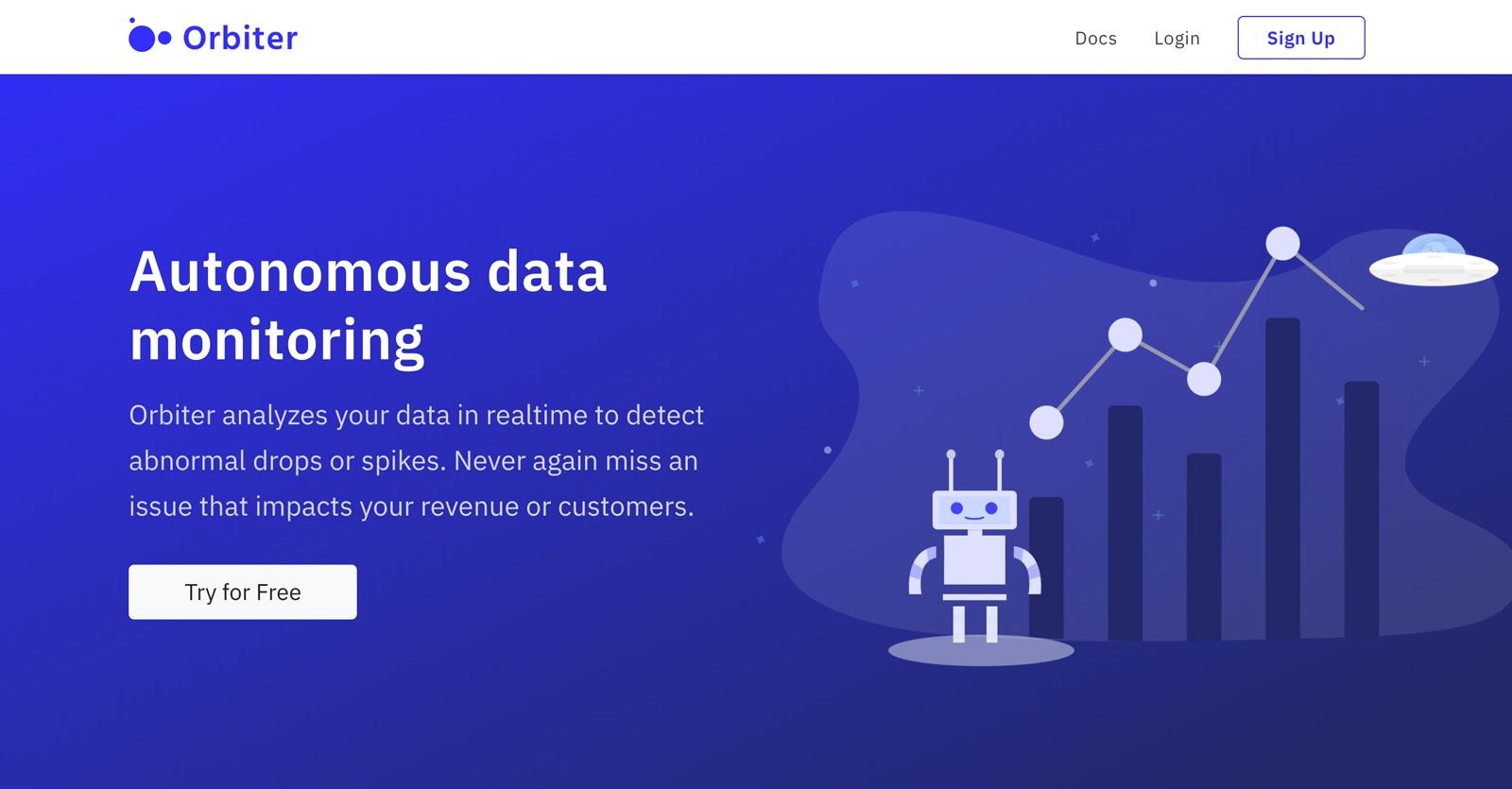 orbiter home page