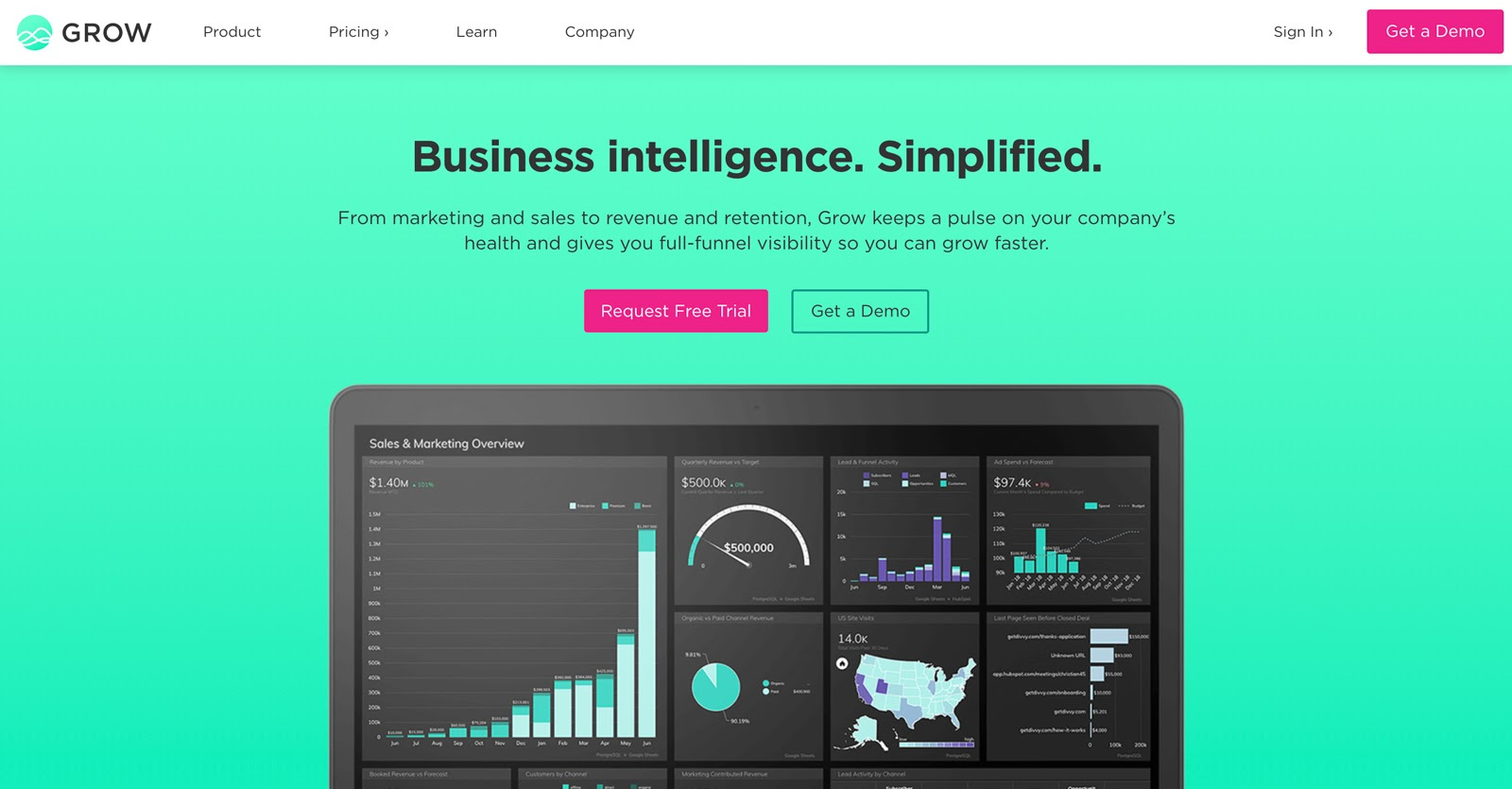 grow business intelligence