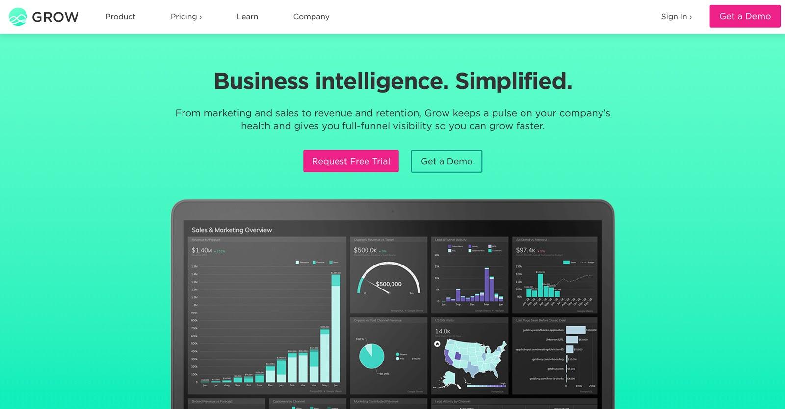 grow business intelligence