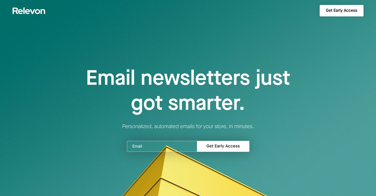 relevon email newsletters