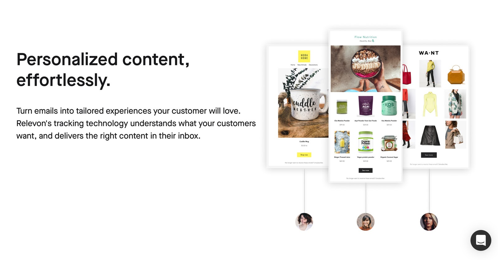personalized content with revelon