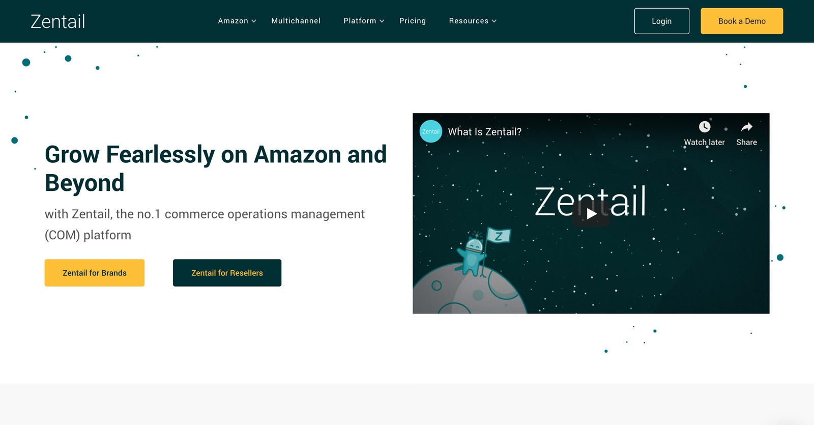 zentail's home page