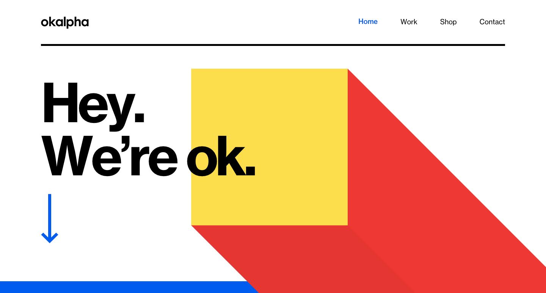 ok alpha home page