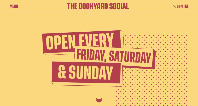 the dockyard social