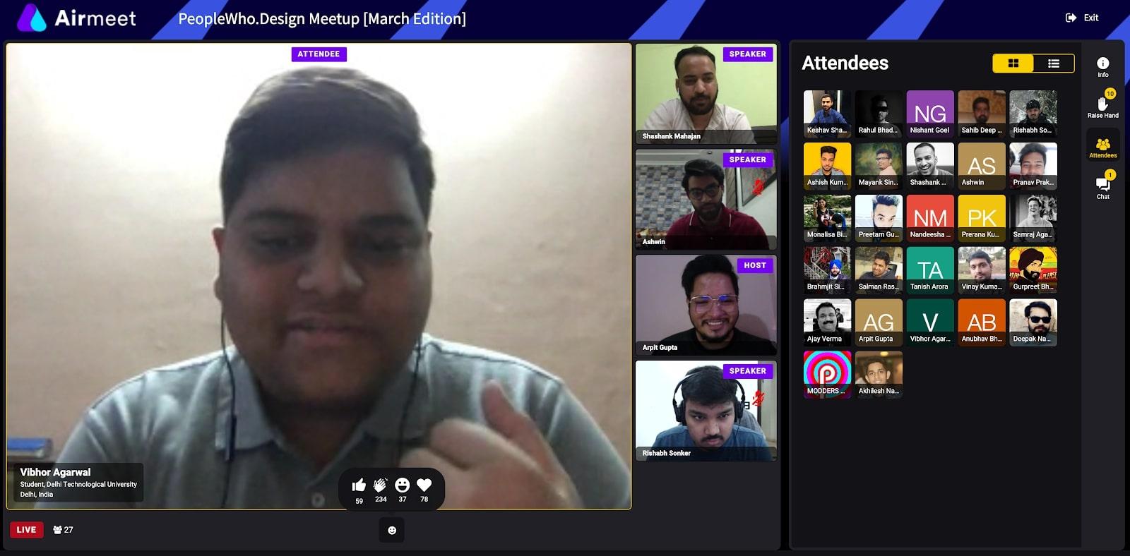 webflow meetup new delhi