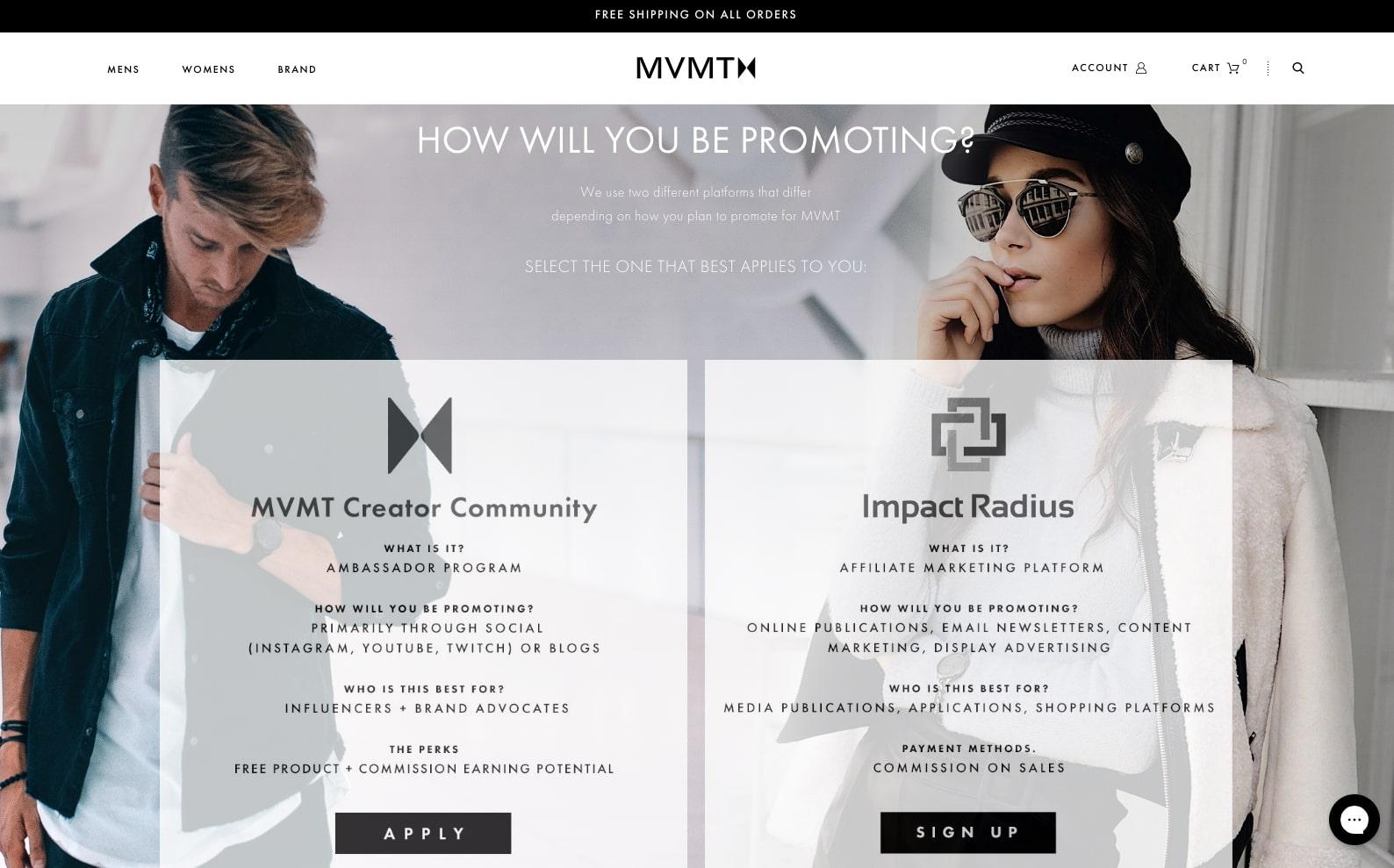 mvmt affiliate program