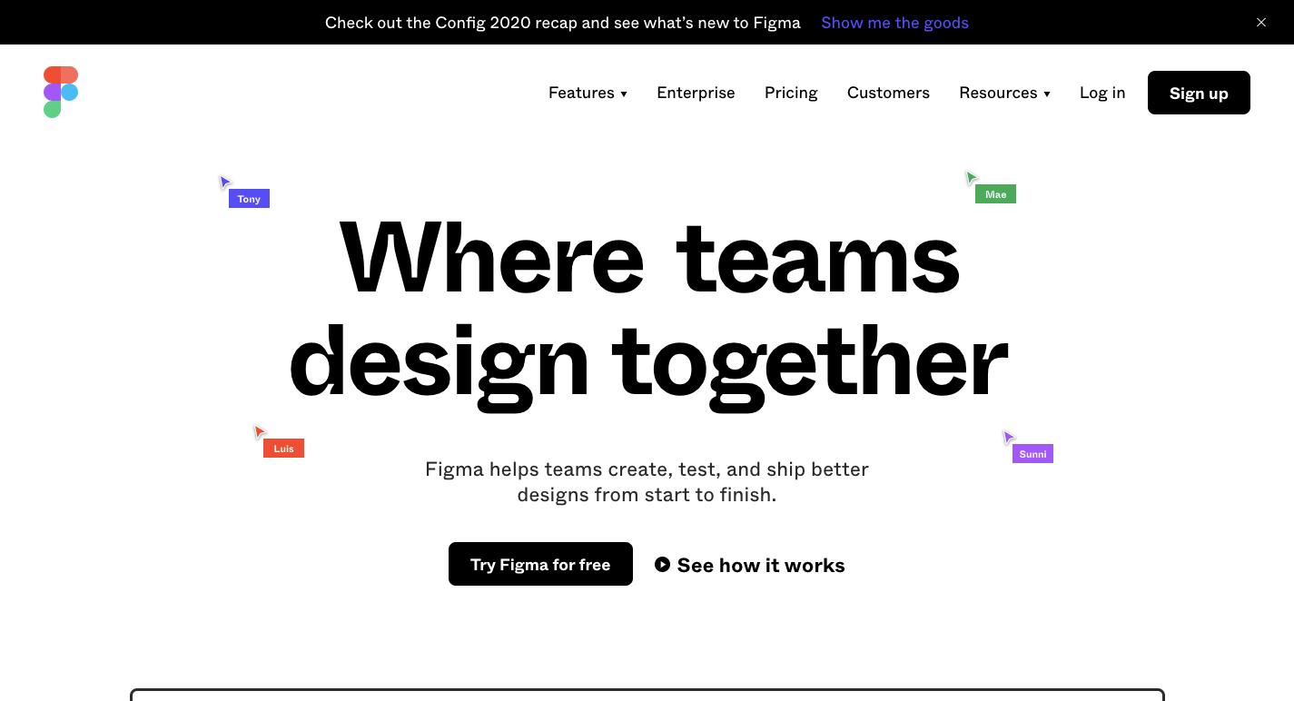 figma homepage