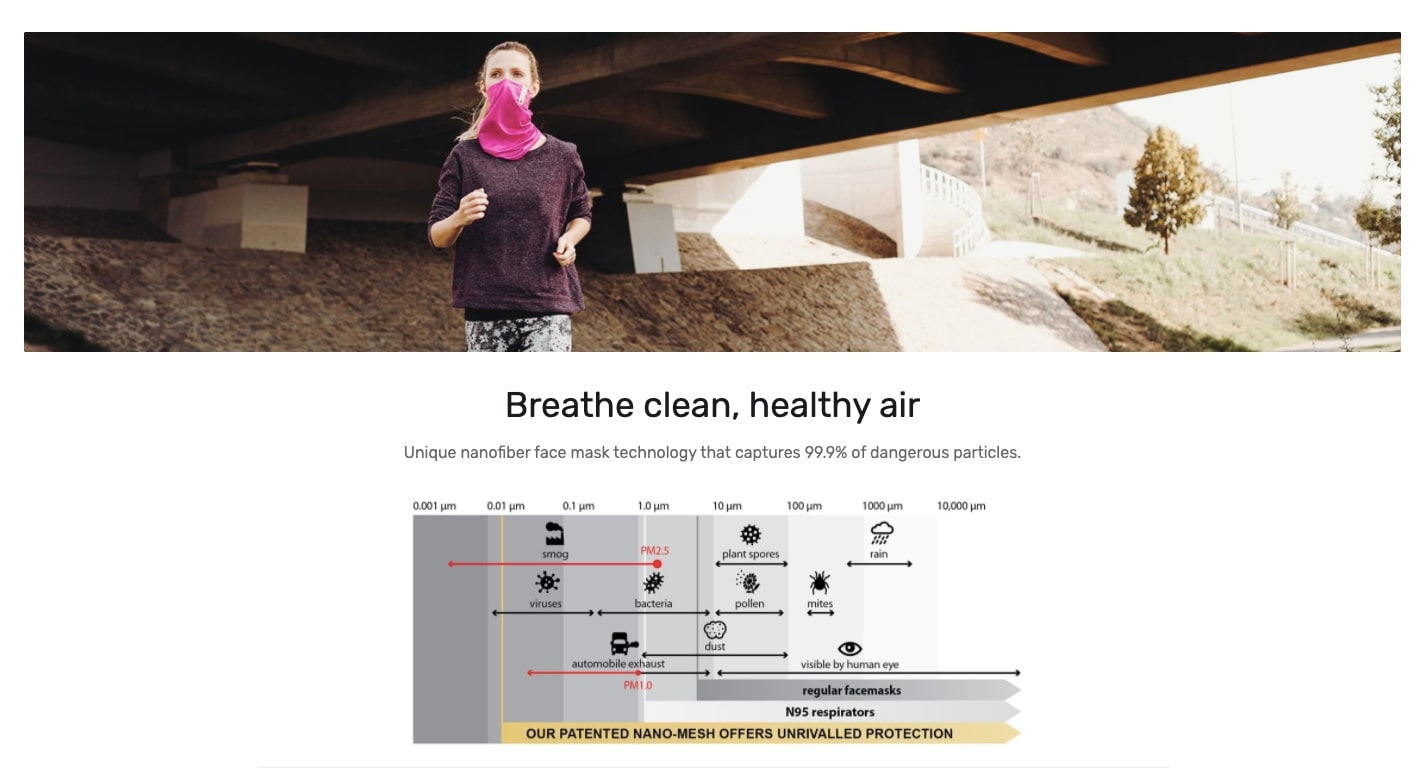 breathe clean air