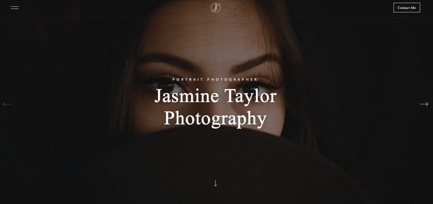 jasmine webflow template