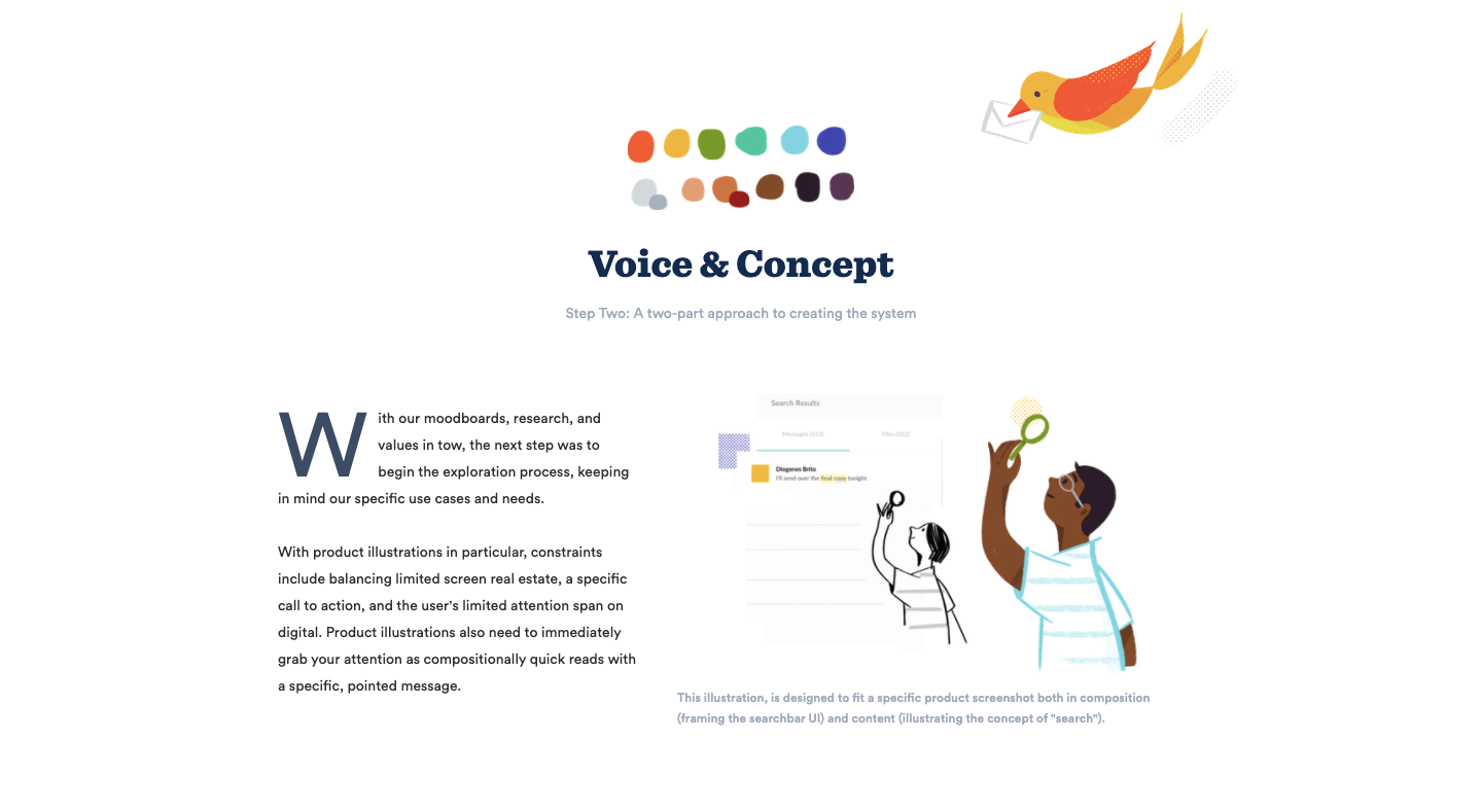 voice and concept